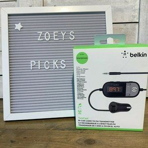 Belkin TuneCast SmartPhone Audio to FM Transmitter